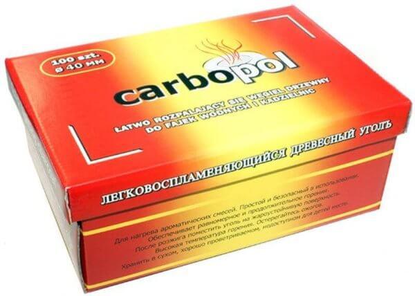 Carbopol öngyulladós szén